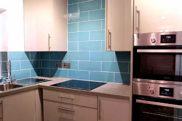 Kitchen design and installation Floor and wall tiling